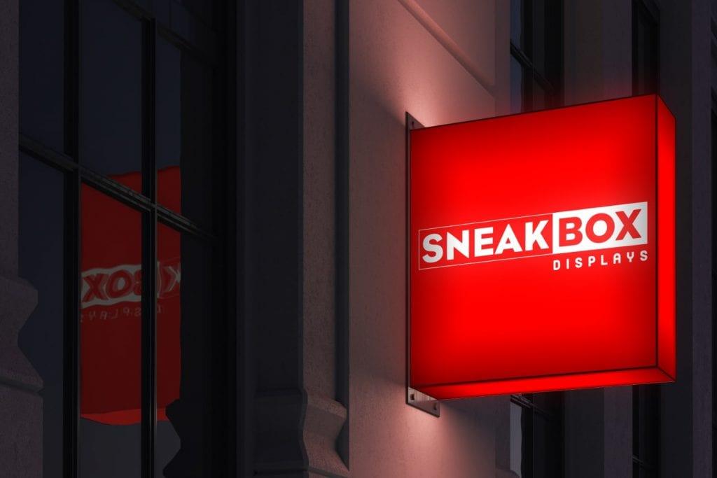 Sneakbox Displays Logo Design