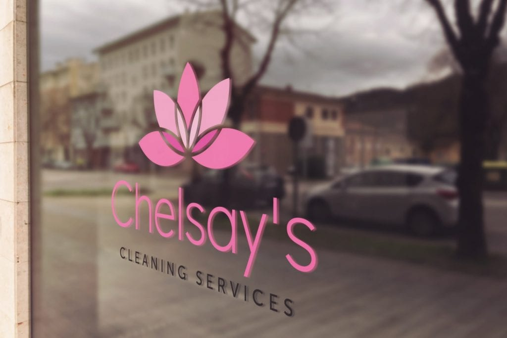 Chelsay's Cleaning Services Logo Design