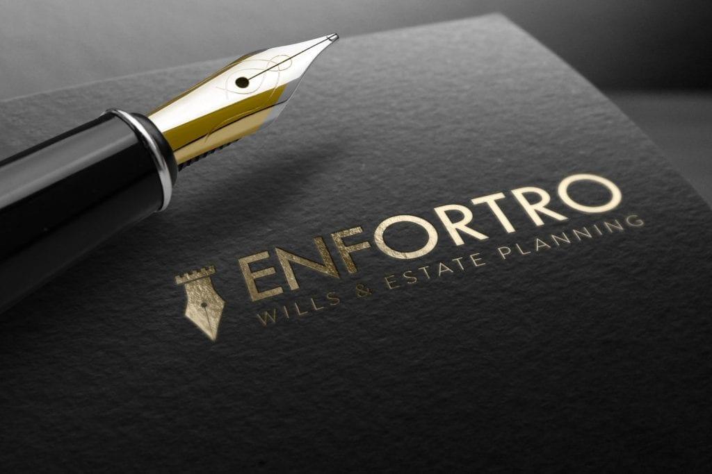 Enfortro Wills & Estate Planning Logo Design