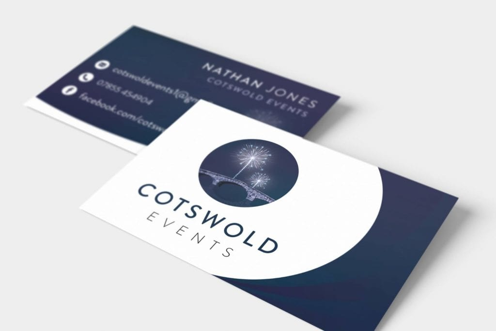 Cotswold Events Logo Design