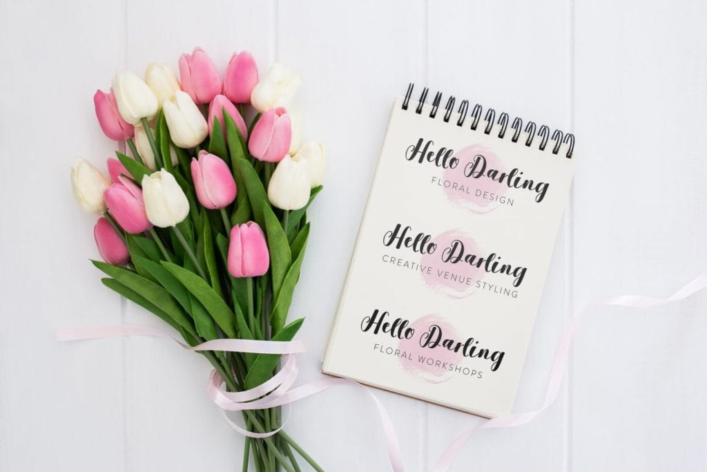 Hello Darling Logo Design